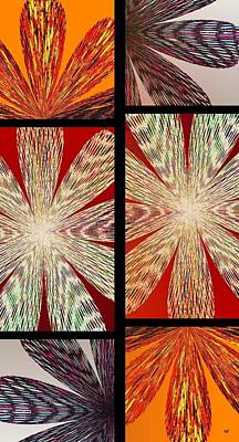 Abstract Fusion 171 Art Print