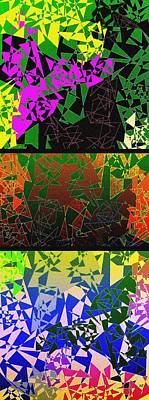 Abstract Fusion 193 Art Print