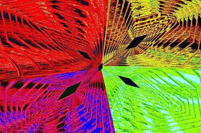 Abstract Fusion 222 Art Print