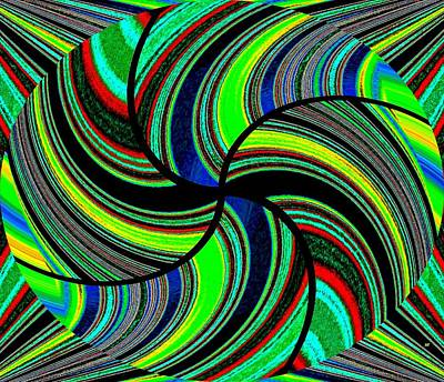 Digital Art - Abstract Fusion 235  by Will Borden