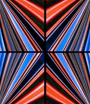 Digital Art - Abstract Fusion 240 by Will Borden