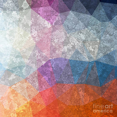 Brush Wall Art - Digital Art - Abstract Futuristic Art Background by Leksustuss