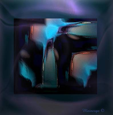 Abstract-g-19 Art Print by Ines Garay-Colomba