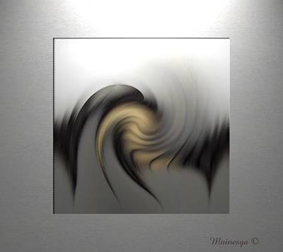 Abstract G-b-g Art Print by Ines Garay-Colomba