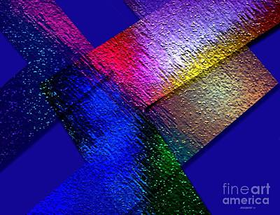 Abstract Geometry Art  Art Print by Mario Perez