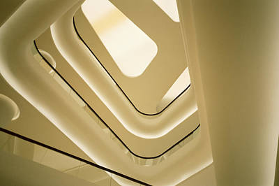 Futurism Architecture Wall Art - Photograph - Abstract Geometry by Shaun Higson