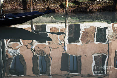 Abstract Gondola Original by Yuri Santin