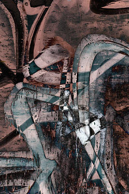 Vandalize Digital Art - Abstract Graffiti 1 by Steve Ball