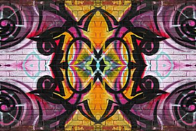Digital Art - Abstract Graffiti 11 by Steve Ball