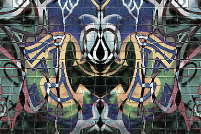 Vandalize Digital Art - Abstract Graffiti 12 by Steve Ball