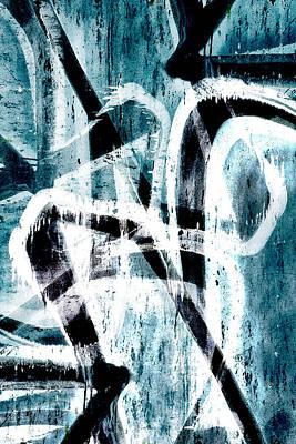 Digital Art - Abstract Graffiti 4 by Steve Ball