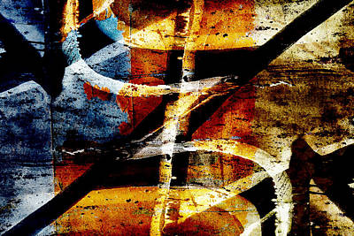 Vandalize Digital Art - Abstract Graffiti 7 by Steve Ball