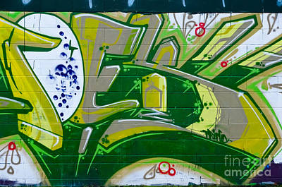 Rowing - Abstract Graffiti Art fragment by Yurix Sardinelly