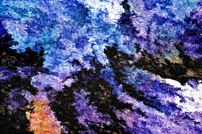 Photograph - Abstract Granite by Ludwig Keck