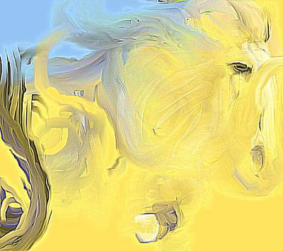 Painting - Abstract Horse by Jessica Wright