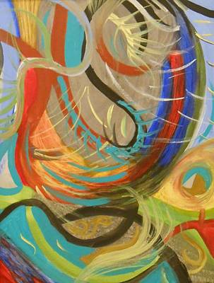 Abstract I Print by Julie Crisan