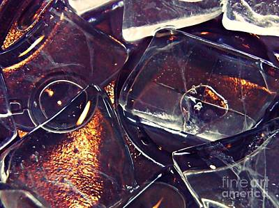 Photograph - Abstract Ice 7 by Sarah Loft