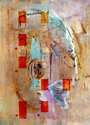 Abstract In Beige Art Print