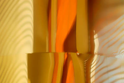 Abstract In Brass - 4 - Historic Library Building - Omaha Nebr Art Print