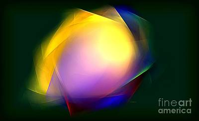 Digital Art - Abstract In Color by Greg Moores