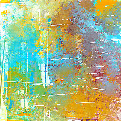 Painting - Abstract In The Sky by Jessica Wright