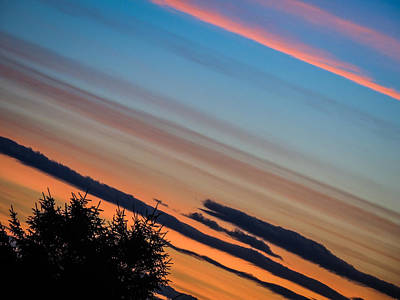 Photograph - Abstract Irish Sunset by James Truett