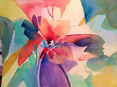 Painting - Abstract Joy by J Worthington Watercolors