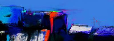 Digital Art - Abstract June 5 2014 by Jim Vance