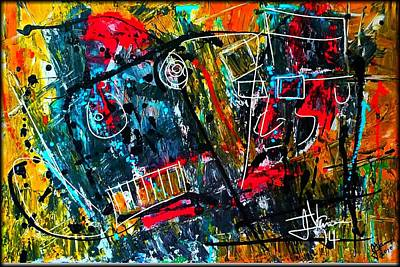 Mixed Media - Abstract June  by Jim Vance