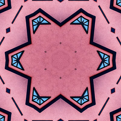 Abstract Kaleidoscope Original by Tommytechno Sweden