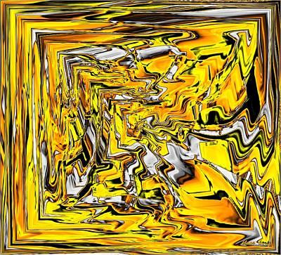 Kunst Mixed Media - Abstract by Klaas Hartz