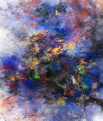 Digital Art - Abstract Landscape 122514 by David Lane