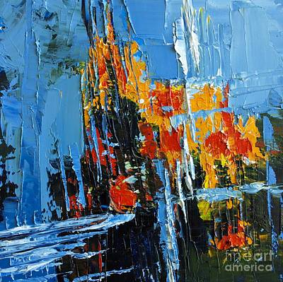 Painting - Abstract Landscape No 6 by Patricia Awapara
