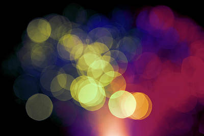 Bright Colours Photograph - Abstract Lights by Wladimir Bulgar