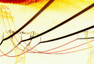 Photograph - Abstract Lines by Robert  Rodvik