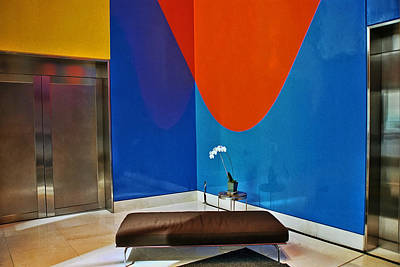Photograph - Abstract Lobby by Allen Beatty