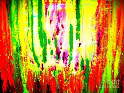 Mixed Media - Abstract Love by Dori Meyer