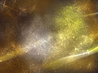 Abstrac Digital Art - Abstract Magical Forest by Veronica Minozzi