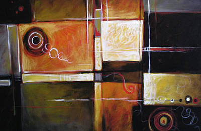 Abstract Painting - Abstract Modern Art ... Resonance By Amy Giacomelli by Amy Giacomelli