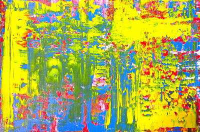 Painting - Abstract Moments 1 by Dylan Chambers