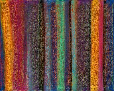Abstract No 19 Bosa Nova Mane Art Print by Brian Broadway