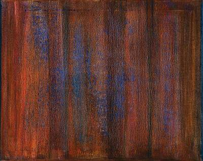 Exhibits Painting - Abstract No 20 Amoris Gustum by Brian Broadway