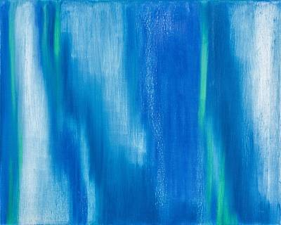 Embrace Painting - Abstract No 4 Christi Amplexu by Brian Broadway