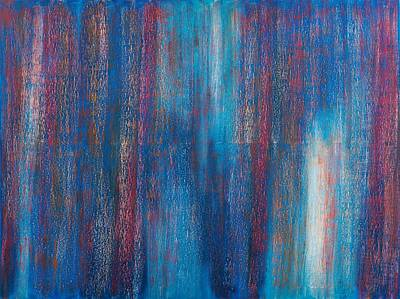 Abstract No 7 Beati Qui Vident Original by Brian Broadway