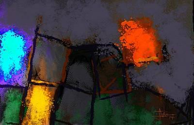 Digital Art - Abstract Nov 01 2014 by Jim Vance