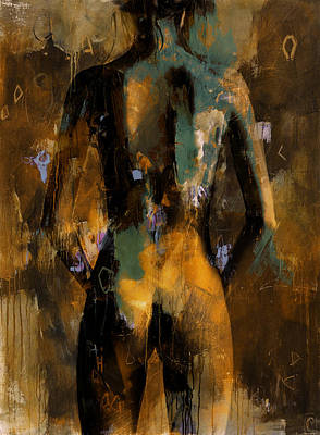 Abstract Nude 12b Original by Mahnoor Shah