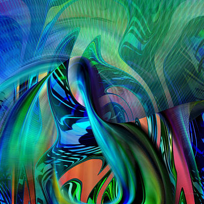 Digital Art - Tropical Feel - 001 by rd Erickson