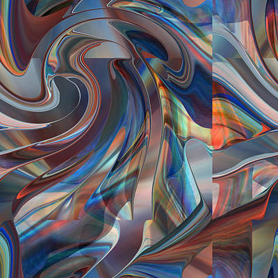 Digital Art - Mounting Up - 003 by rd Erickson
