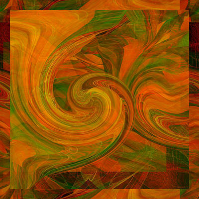 Digital Art - Abstract Number 016 by rd Erickson
