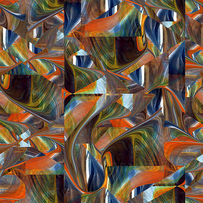 Digital Art - Turmoil Of The Soul - 020 by rd Erickson